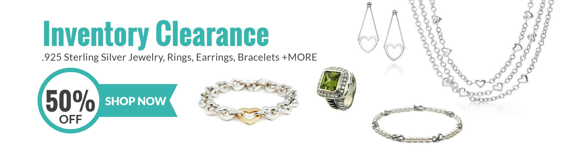 Designer Inspired Jewelry Inventory Clearance Sale